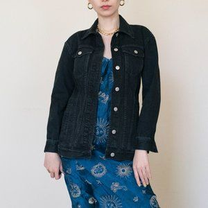 Madwell The Oversized Jean Jacket in Black